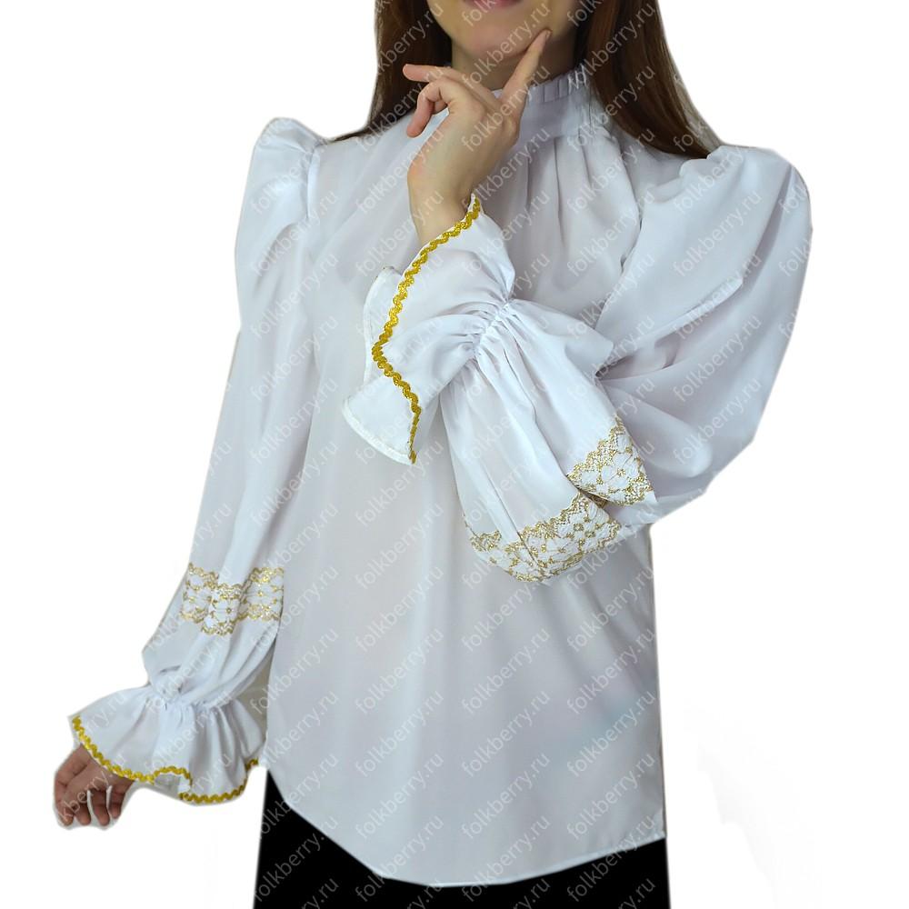 Блуза, шифон- фото 1