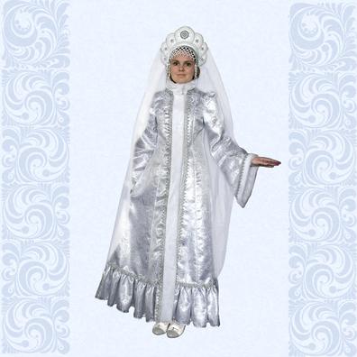 Карнавальный костюм Снегурочка-6- фото 1