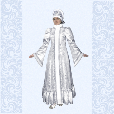Карнавальный костюм Снегурочка-4- фото 1