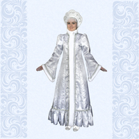 Карнавальный костюм Снегурочка-7