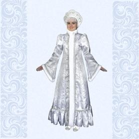 Карнавальный костюм Снегурочка-7- фото 1