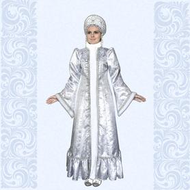 Карнавальный костюм Снегурочка-5- фото 1