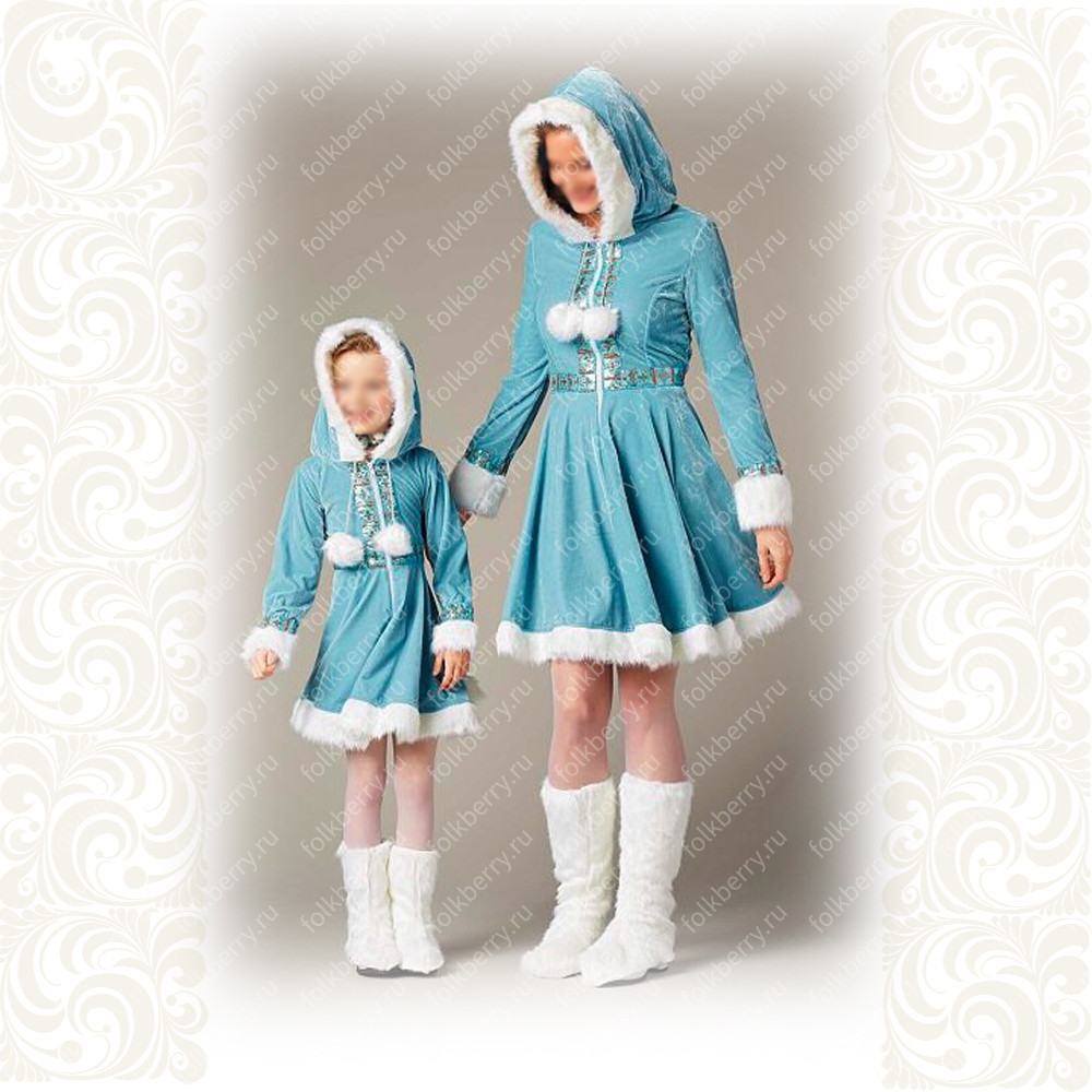 Платье Зимушка- фото 1