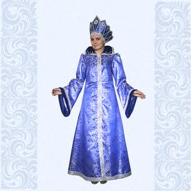 Карнавальный костюм Зимушки, Снежной Королевы, Снегурочки, №10-1