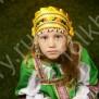 Девичья повязка Ладушка (очелье), желтый в золоте - фото 2