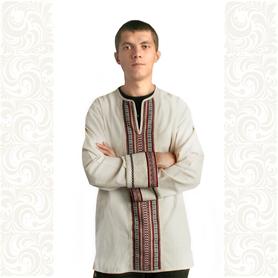 Рубаха Хуторок, лен- фото 1