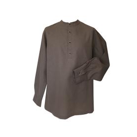 Рубаха Русский Стандарт, лен, бежевый- фото 1