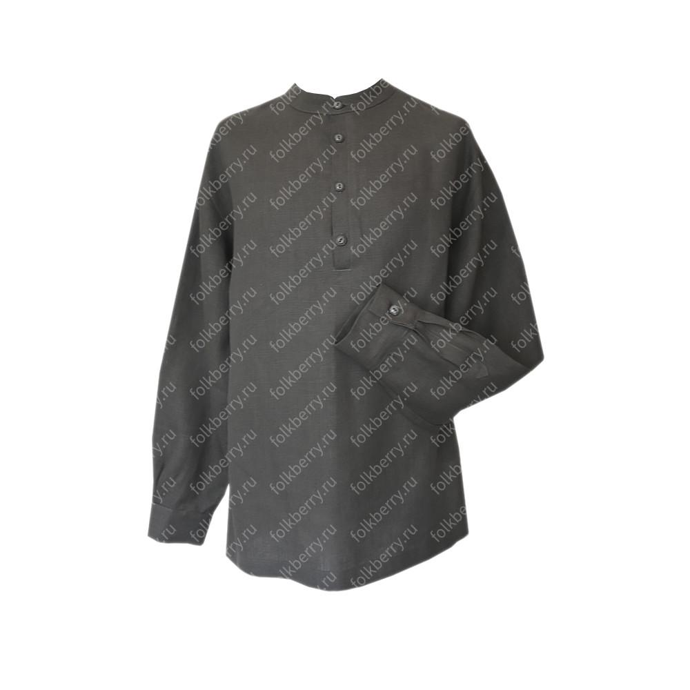 Рубаха Русский Стандарт, лен, стальной- фото 1
