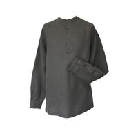 Рубаха Русский Стандарт, лен, стальной