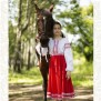 Платье Дмитра, габардин, красное - фото 2