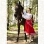 Платье Дмитра, габардин, красное - фото 3