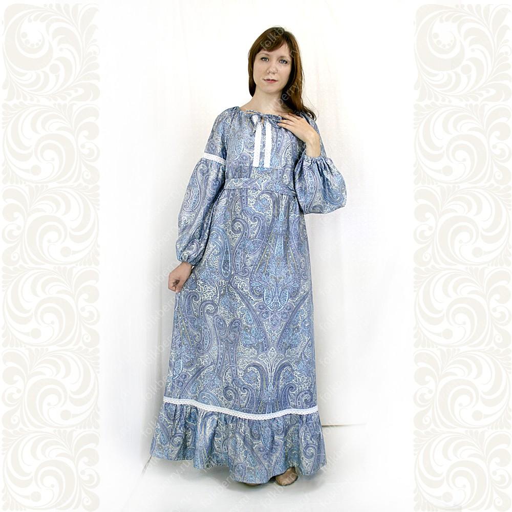 Платье Маруся, хлопок, женское- фото 1