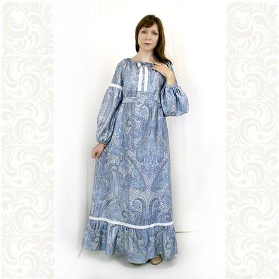 Платье Маруся, хлопок- фото 1