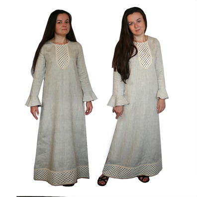 Платье Яся, лен- фото 1