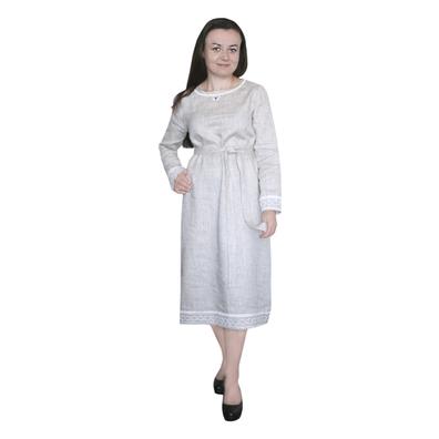 Платье Скандинавия, лен- фото 1