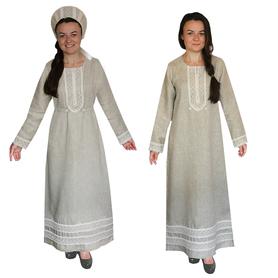 Платье Таруся, лен- фото 1