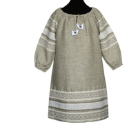 Платье Верея, лен, для девочек
