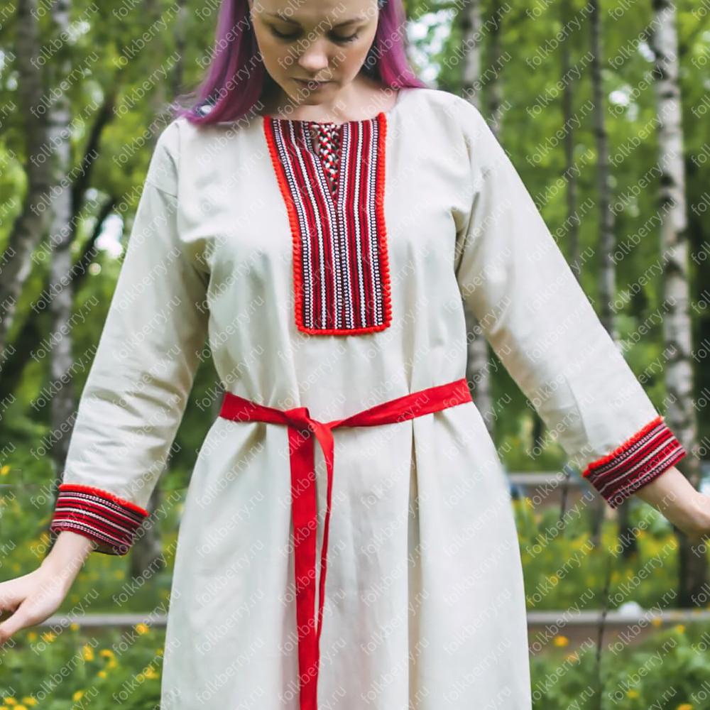 """Рубаха """"Славянская"""", женская- фото 1"""