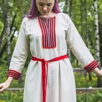 """Рубаха """"Славянская"""", для девочек"""