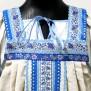 Сарафан с блузой Голуба, лен - фото 3