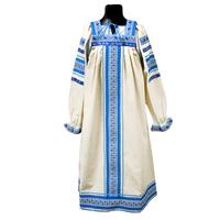 Сарафан с блузой Голуба, лен, для девочек