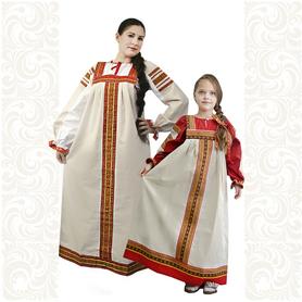 Сарафан с блузой Яринка, лен- фото 1